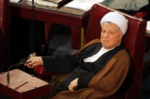 epa03610273 Iran's former President Akbar Hashemi Rafsanjani attends the annual meeting of the Experts Assembly in Tehran, Iran, 05 March 2013. The assembly is the highest clergy body in the country which is even authorized to supervise the activities of the country's supreme leadership. EPA/ABEDIN TAHERKENAREH