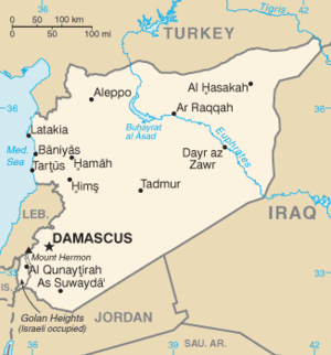 SYRIA US To Seek NoFly Zone West Of The Euphrates Intel Today - Us no fly zones map