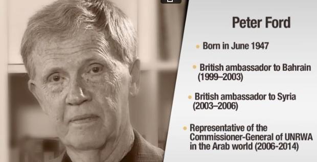 Image result for Peter Ford, former British Ambassador to Syria