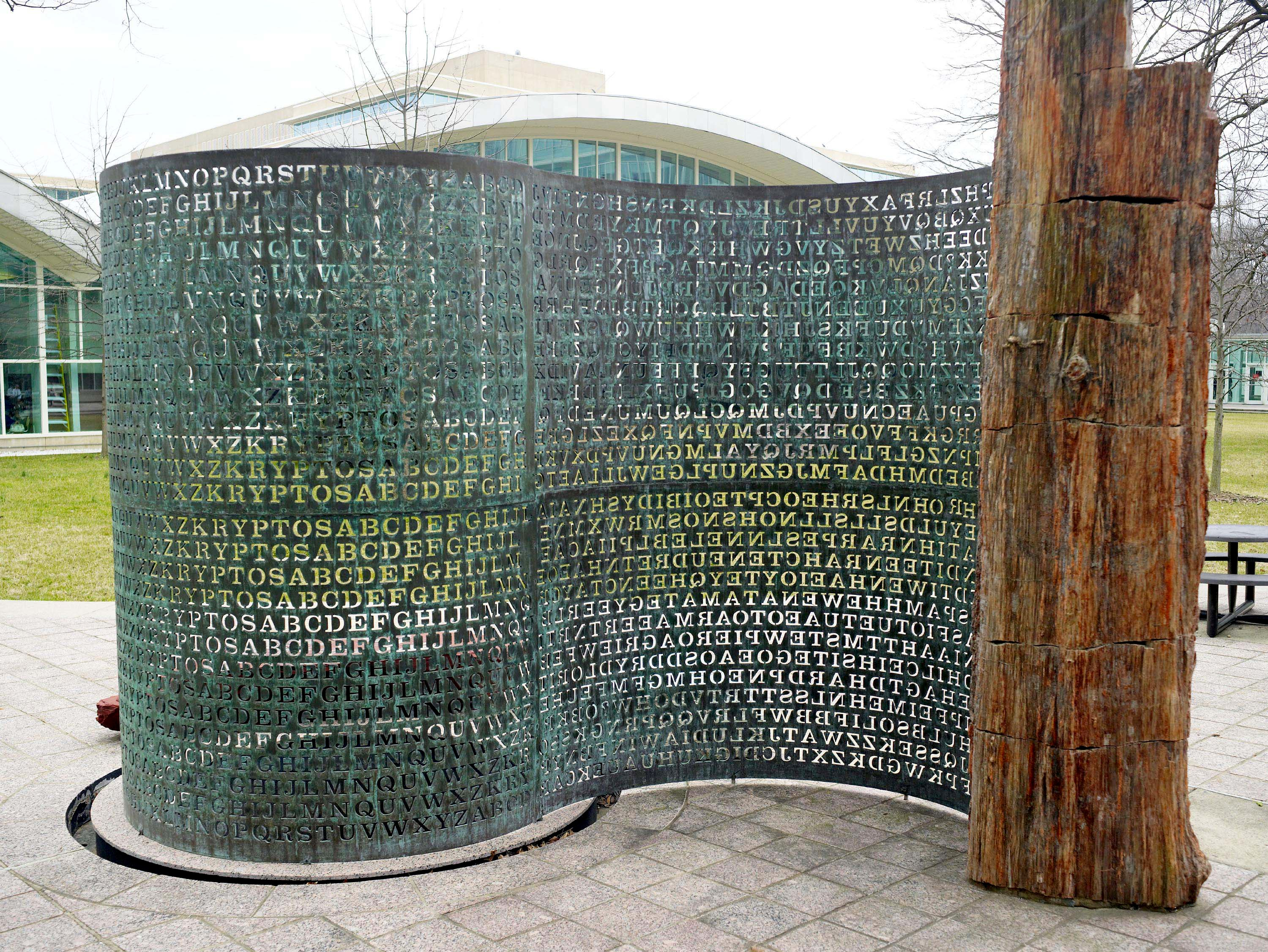"""The Kryptos Sculpture: """"The Code the CIA / NSA Can't Crack"""
