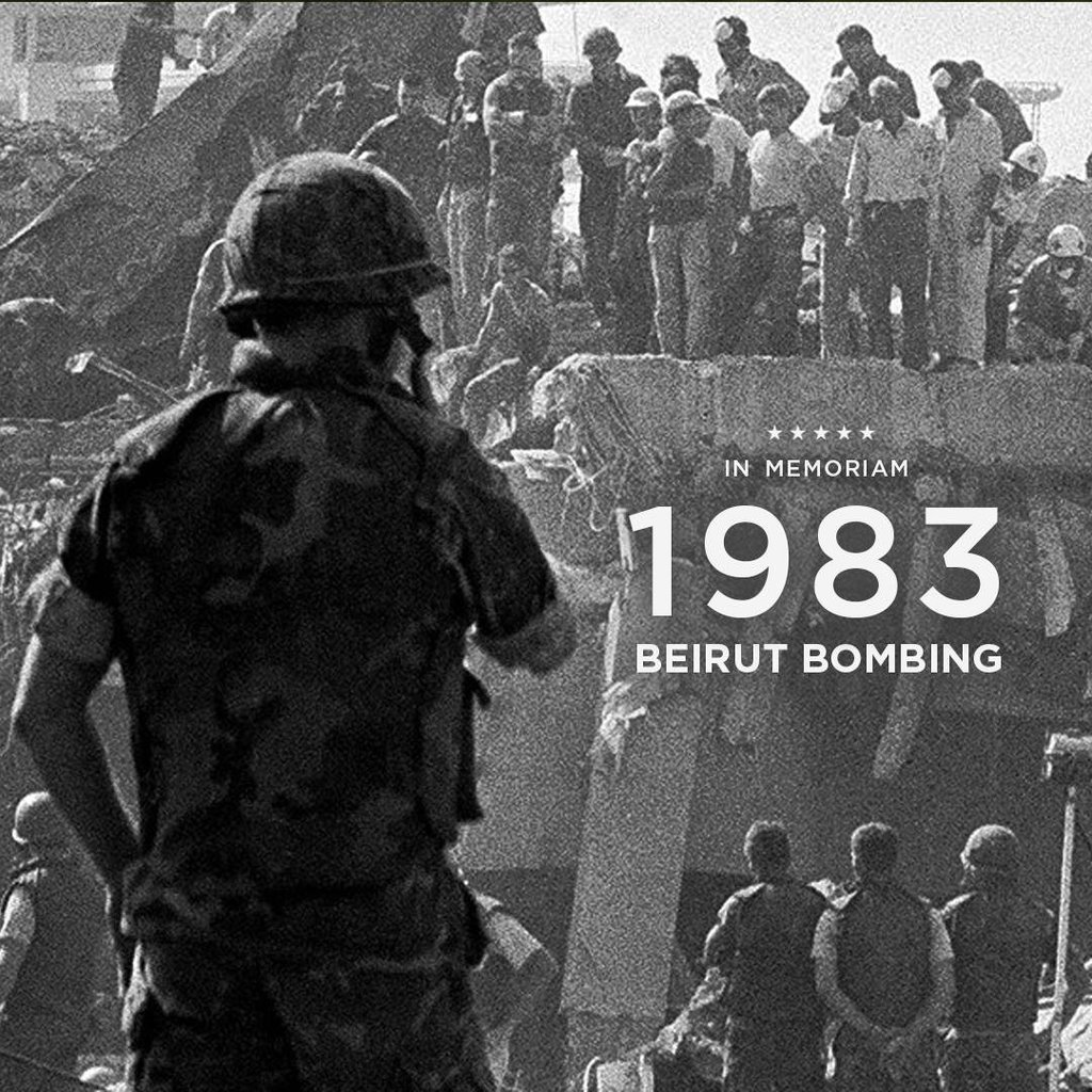 On This Day  U2014 The Beirut Barracks Bombings  October 23  1983