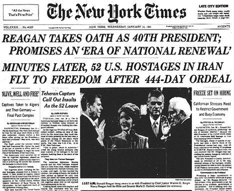 Image result for iran hostage release january 1981